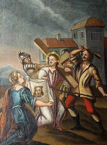 christus portrait schweißtuch